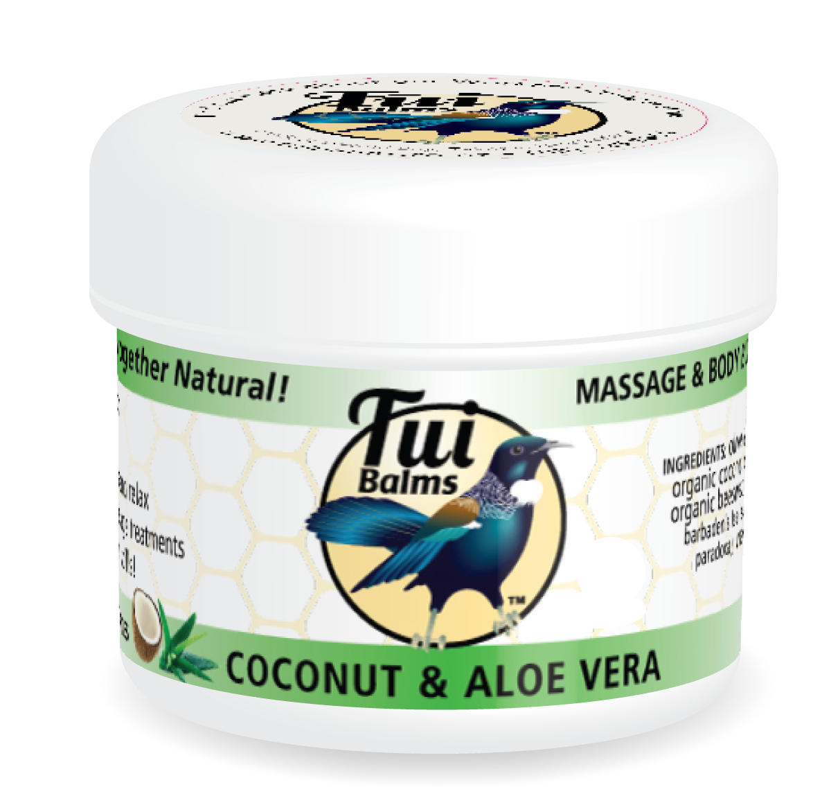 Massage & Body Butter COCONUT & ALOE VERA