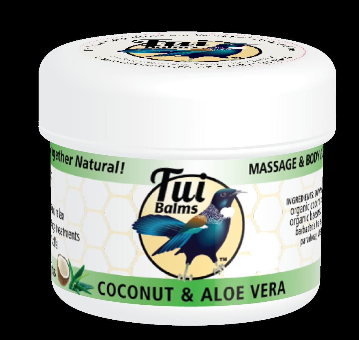 Massage & Body Butter COCONUT & ALOE VERA