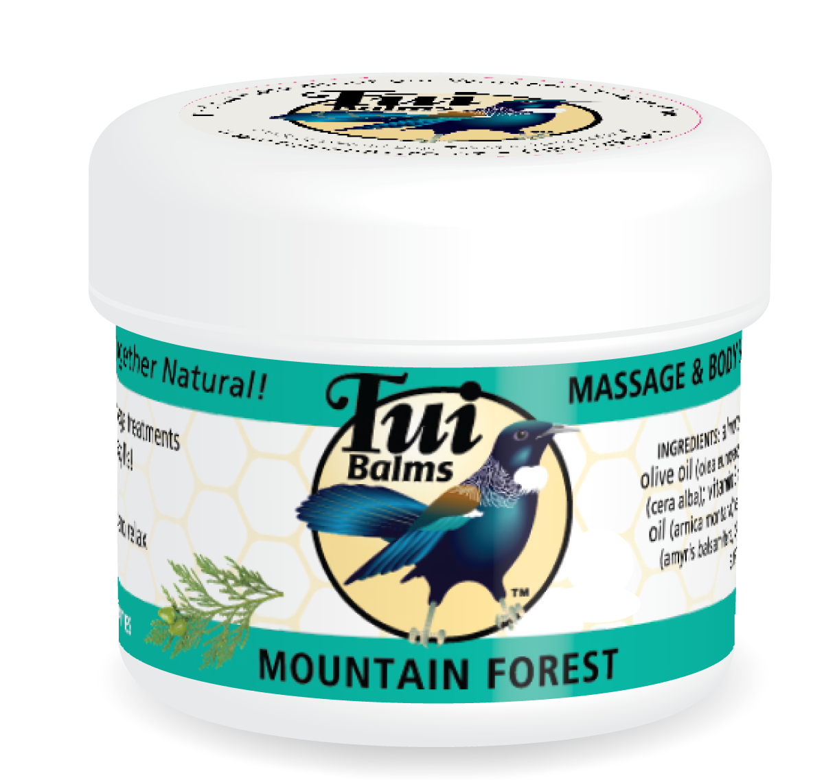 Massage & Body Balm MOUNTAIN FOREST