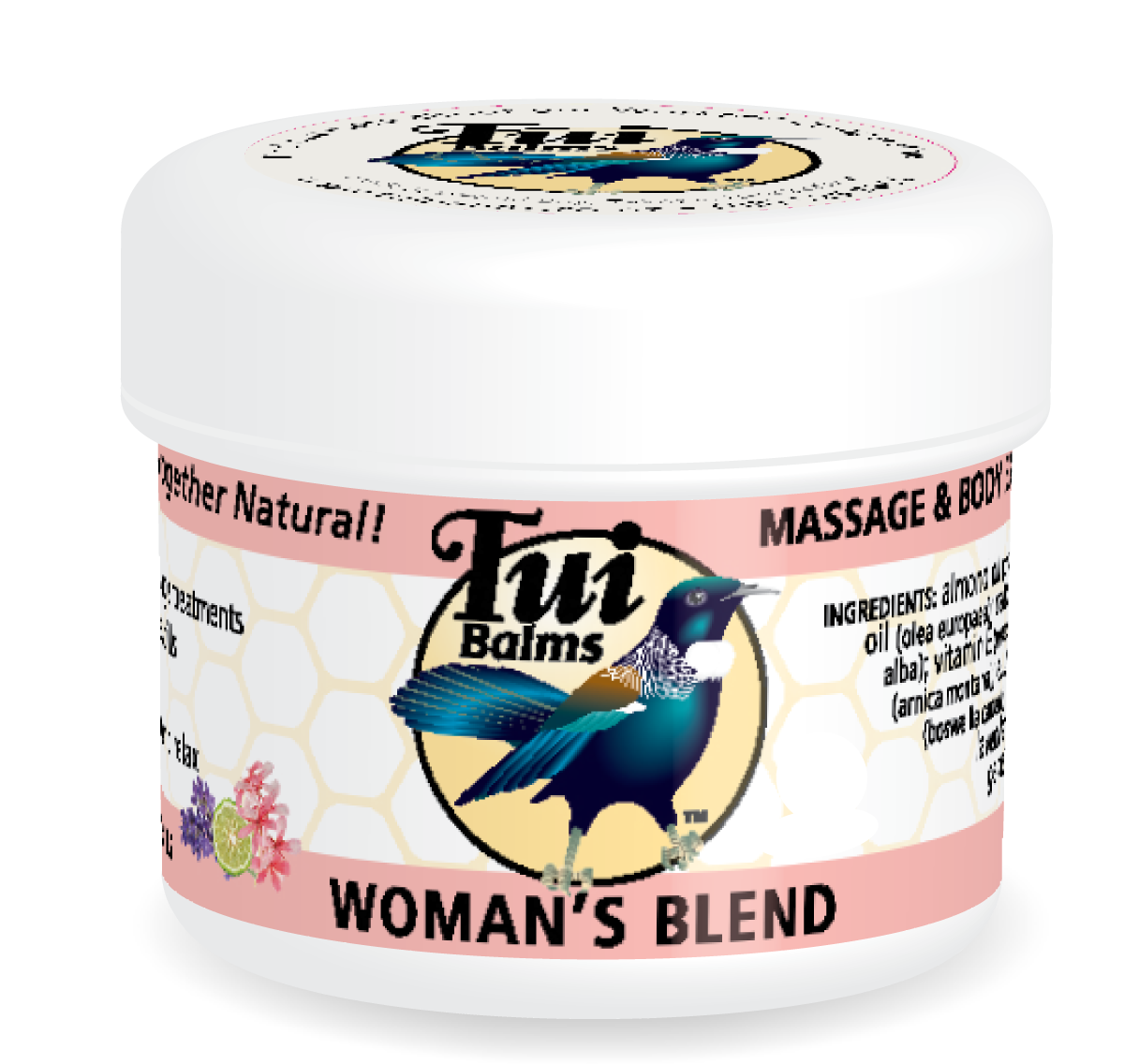 Massage & Body Balm WOMAN'S BLEND