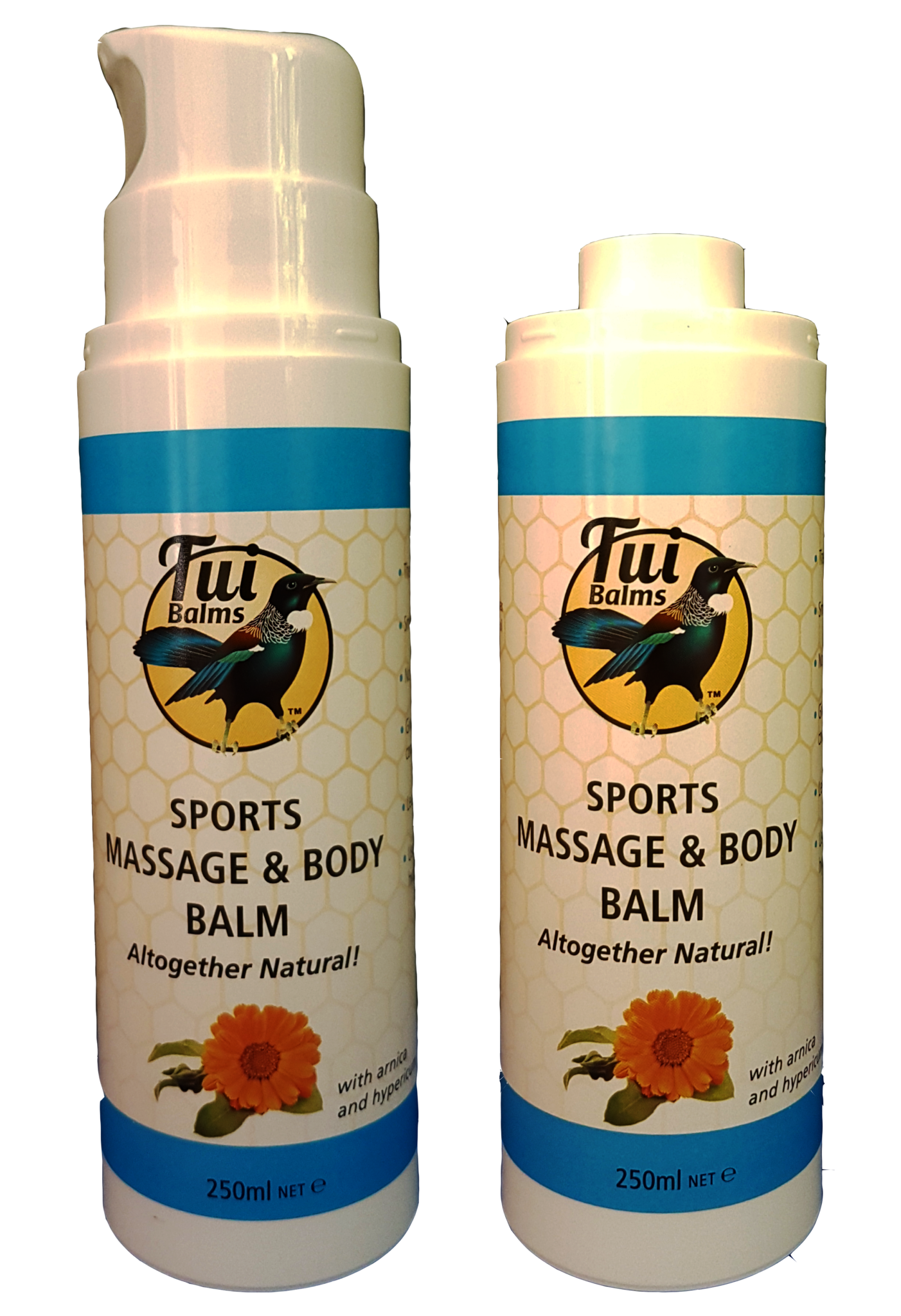 Massage & Body Balm SPORTS – Pump
